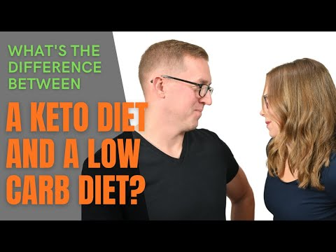 KETO TIPS | Difference Between A Keto Diet And A Low Carb Diet ��