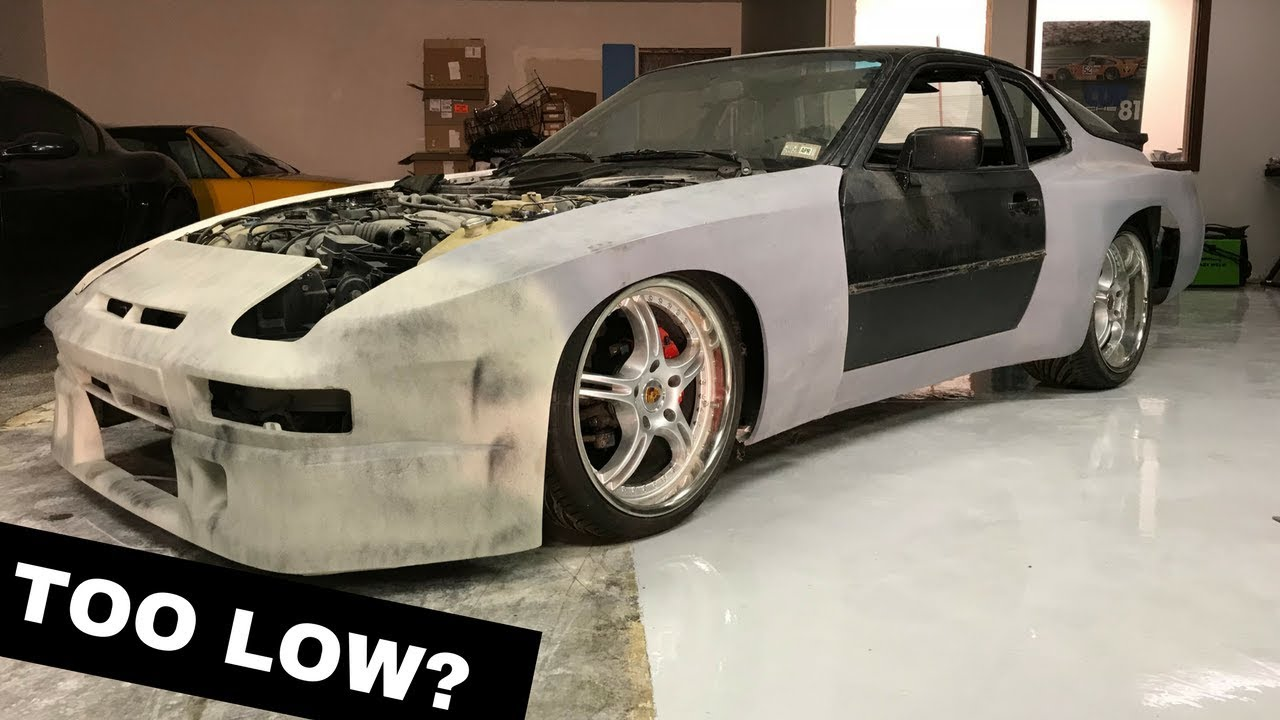 Widebody 944 Project Rear Coilover Install Ground Control Youtube