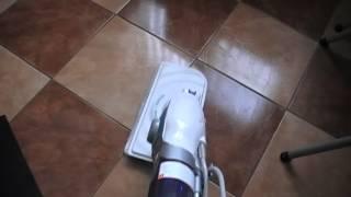 видео Электрическая паровая щётка швабра