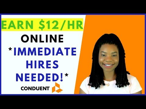 *IMMEDIATE HIRES* Conduent (no experience!) | Online, Remote Work From Home Jobs March 2019