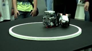 Robotex 2012 Mini  ja LEGO Sumo