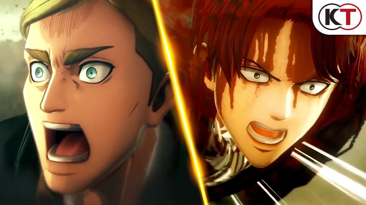 PS4/Switch/Steam『進擊的巨人2 -Final Battle-』繁體中文版2019年7月4日(四)決定發售!PV1 - YouTube