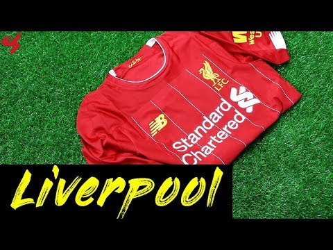 7d2d51374 New Balance Liverpool FC Firmino 2019 20 ELITE Home Jersey Unboxing + Review