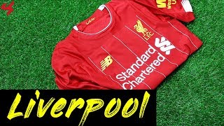 21fa7b576 New Balance Liverpool FC Firmino 2019 20 ELITE Home Jersey Unboxing + Review