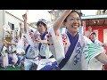 組踊り「東京新のんき連」①  2018清瀬駅南口秋のふれあいまつり(2018.10.28)