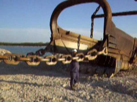 35 yards bucket ,B&E 1250 dragline