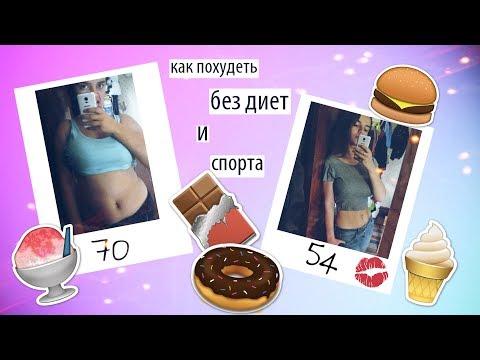 как я похудела на 16 кг без диет и спорта?
