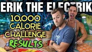 Erik the Electrik || 10,000 Calorie Anabolic Cookbook Challenge || The RESULTS!!!