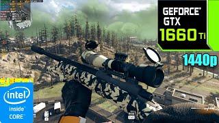 Call of Duty Warzone : GTX 1660 Ti 6GB + i9 10900K ( Maximum Settings )