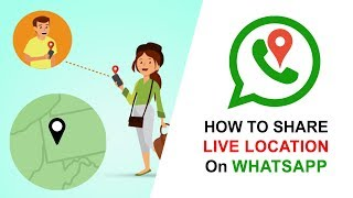 How to Share Live Location On WhatsApp   Real Time Location in WhatsApp   Hindi