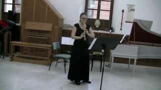 Hans-Martin Linde — Music for a bird | Féodora Diakoff, recorder