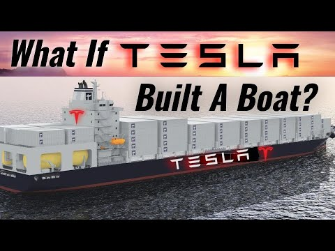 Can Tesla Revolutionize The Shipping Industry? Financial Costs & Battery Requirements