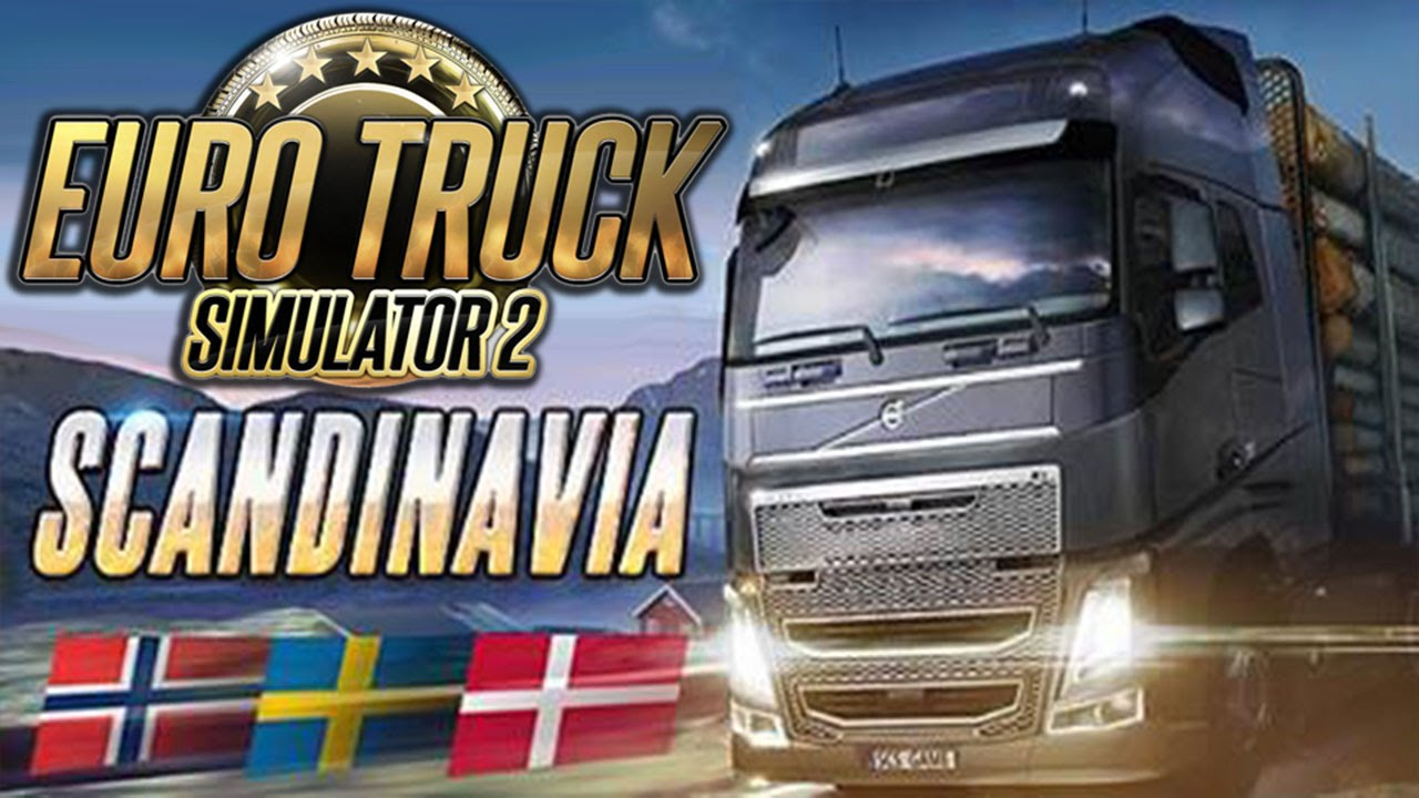 euro truck simulator 2 scandinavia add on pc gameplay. Black Bedroom Furniture Sets. Home Design Ideas