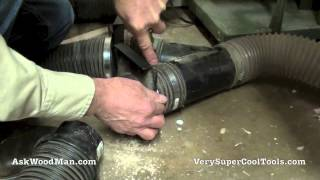 Woodworking Dust Collection Tip - How To Clean Blast Gates