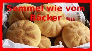 Semmeln wie vom Bäcker  Thermomix® TM5 & Pampered Chef®