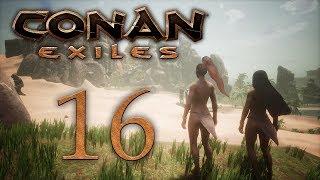 Conan Exiles - прохождение игры на русском - Город Обезьян 16 PC