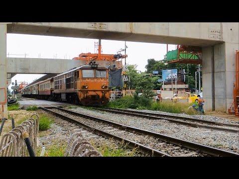 จุดตัดทางรถไฟถนนประดิพัทธ์ : Pradiphat Rd. Railroad Crossing , BANGKOK 2016