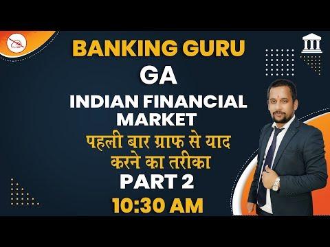GA | Banking Guru | By Rajeev Mahendras | Indian Financial Market | 10:30 am