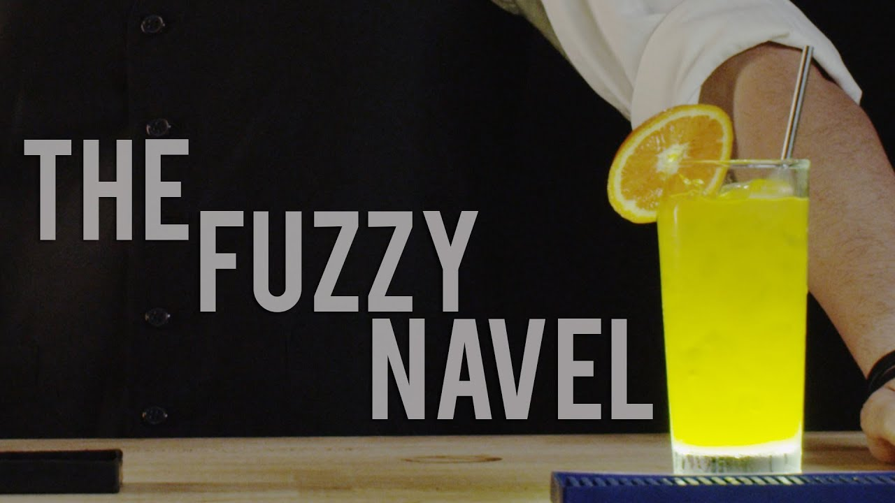 How To Make The Fuzzy Navel Best Drink Recipes Youtube