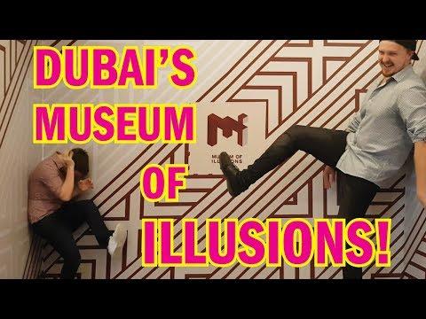 Inside Dubai's epic MUSEUM OF ILLUSIONS! (2018)
