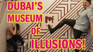 Inside Dubai's epic MUSEUM OF ILLUSIONS! (2018)