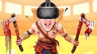 ШАШЛЫК ИЗ ГЛАДИАТОРОВ! БЕСКОНЕЧНАЯ БИТВА В VR (HTC Vive) Blade and Sorcery