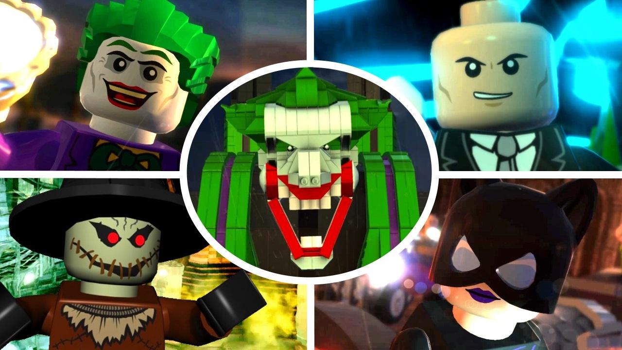 lego batman 2 dc heroes all story mission