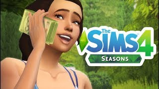 GROWING A MAGICAL MONEY TREE! 💵🌲 | THE SIMS 4 // SEASONS — 25