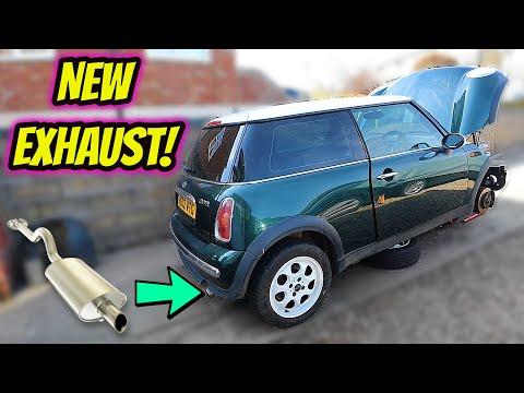 Mini Cooper New Exhaust Install!