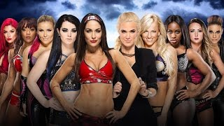 ST 227 (6) WWE WrestleMania 32 Total Divas vs Team B.A.D. and Blonde Match Predictions