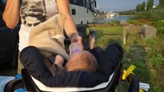 VLOG#1 mit Camper und Baby durch Europa