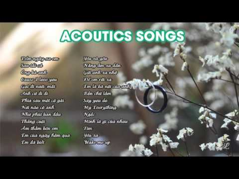 Album Vietnam acoutics songs 2016 (Fingerstyle guitar)