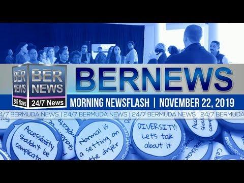 Bermuda Newsflash For Friday, November 22, 2019
