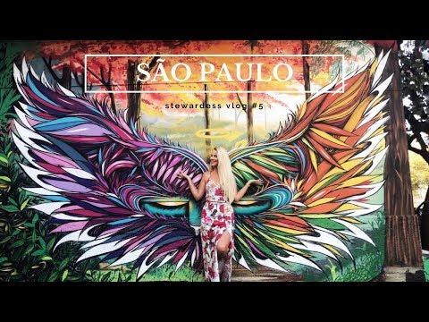 SÃO PAULO ✈ Stewardess Vlog #5