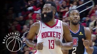 [NBA] Los Angeles Clippers vs Houston Rockets, Full Game Highlights, November 13, 2019