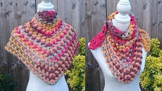 A mix of a yarn review and pattern today as I introduce to you the new Chunky Pots by Paintbox as we make my puff stitch shawl! I hope you enjoy and feel ...