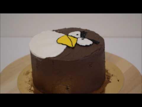 Сборка торта в стиле Angry Birds от Kagat Cake