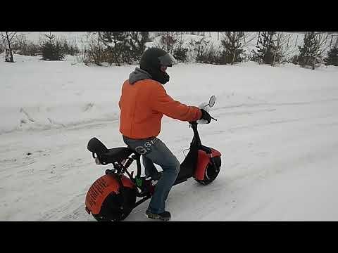 Электроскутер на зимовку. Как правильно хранить литий-ионные АКБ зимой.