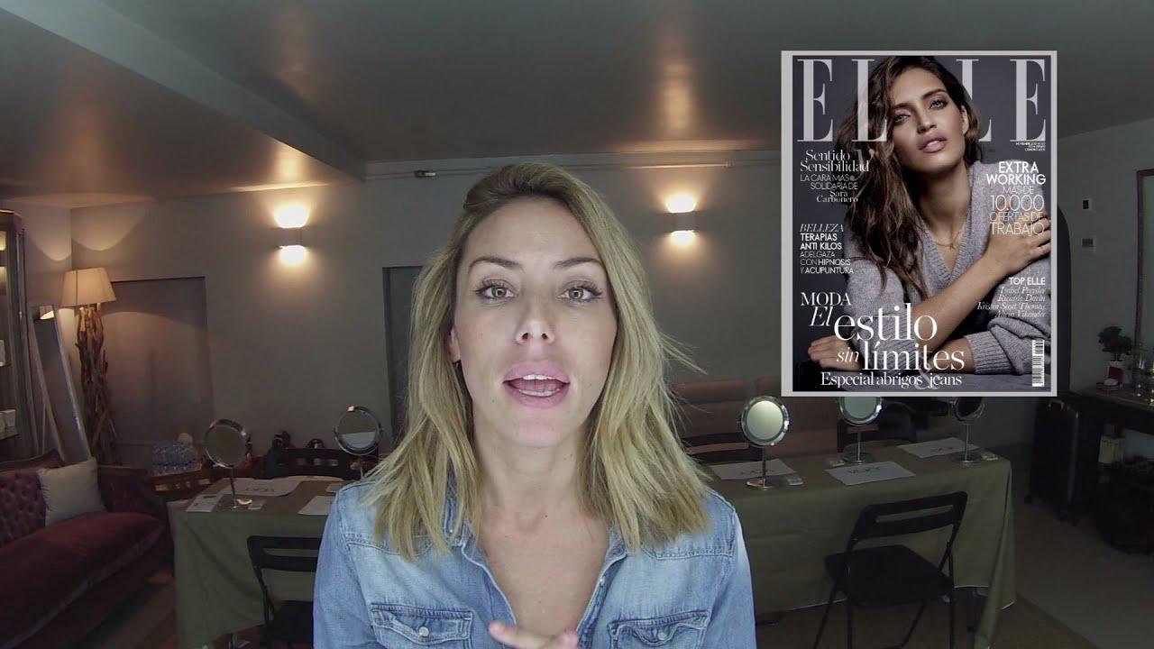 Barra de labios de Sara Carbonero en Revista Elle - YouTube