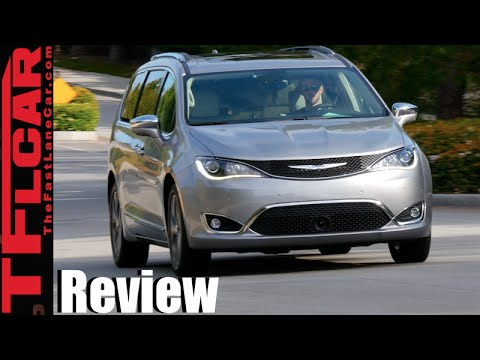 2017 Chrysler Pacifica Minivan First Drive Review All New Very Much Improved