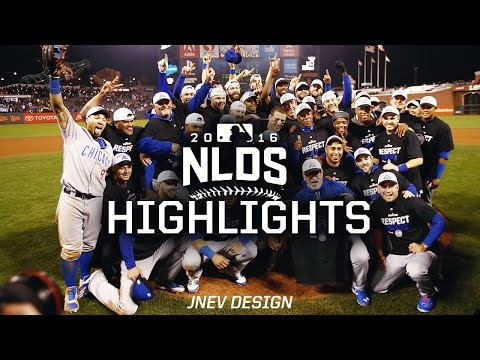 MLB Postseson Chicago Cubs 2016 NLDS vs Giants Highlights - Best Moments #FlyTheW