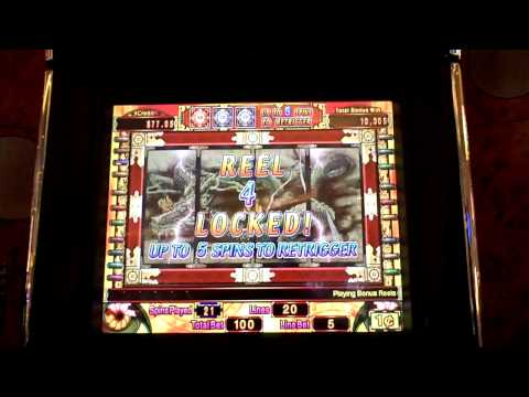 Shinobi Bonus Slot Win with 6 Retriggers at Parx Casino