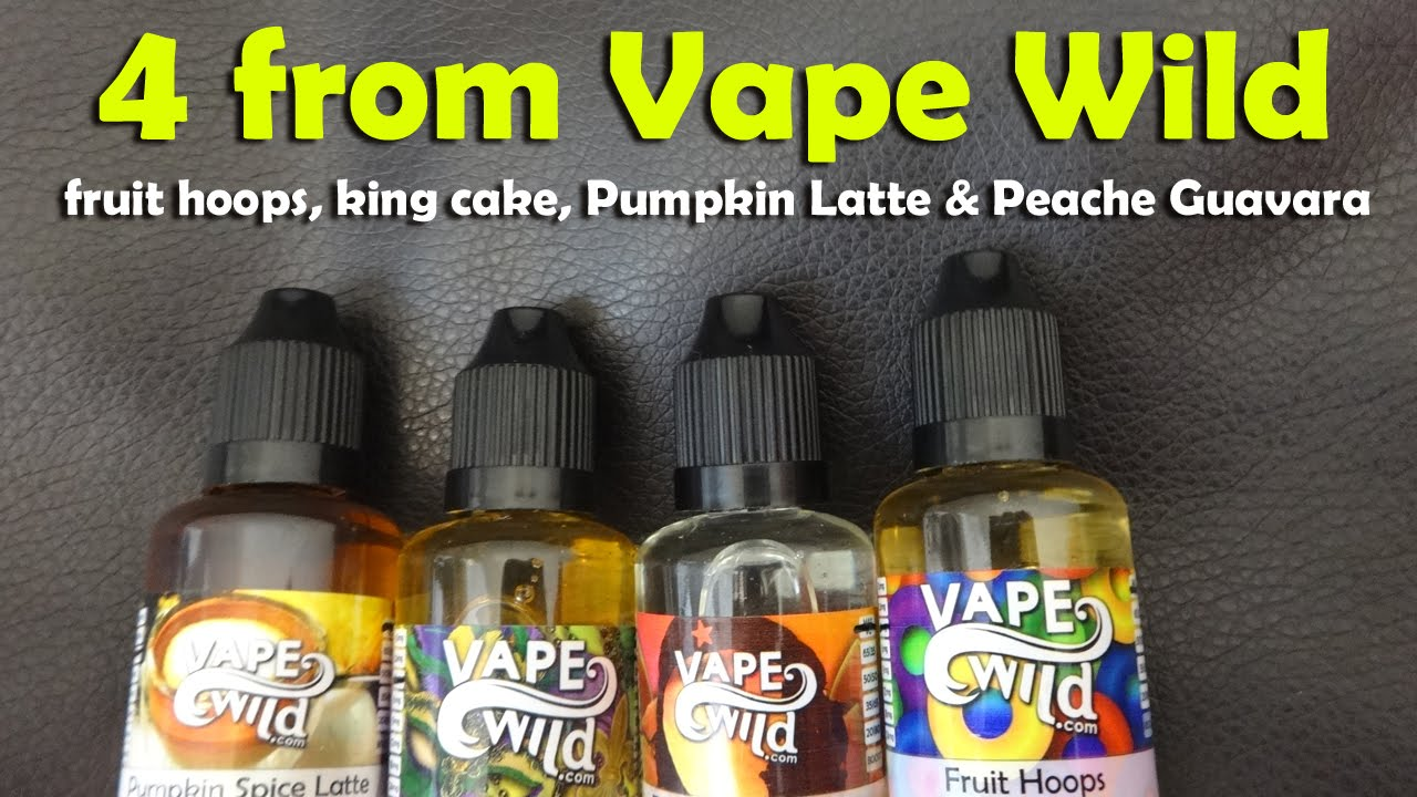 4 Juices from Vape Wild - Review