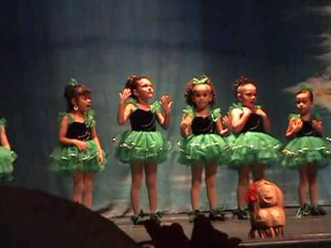 Final, young girls tap dancing found site