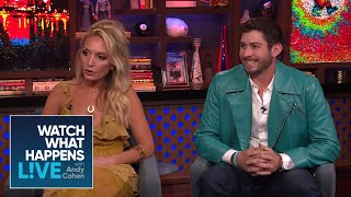 Kate Chastain And Nico Scholly's Opinions on the #BelowDeckMed Drama | #BelowDeckMed | WWHL