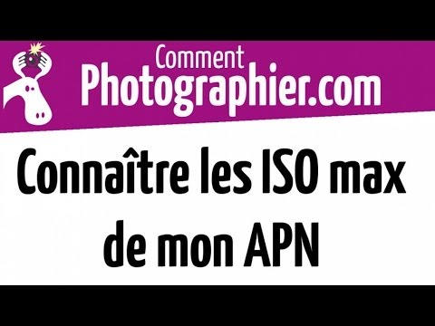 comment photographier connaitre les iso maxi de mon apn youtube. Black Bedroom Furniture Sets. Home Design Ideas