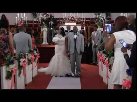 Jumping The Broom Wedding Ceremony -- Takika And Kevin