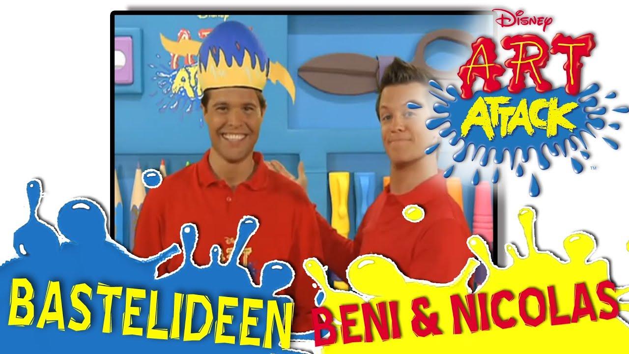 Art Attack Bastelideen Mit Beni Und Nicolas Youtube