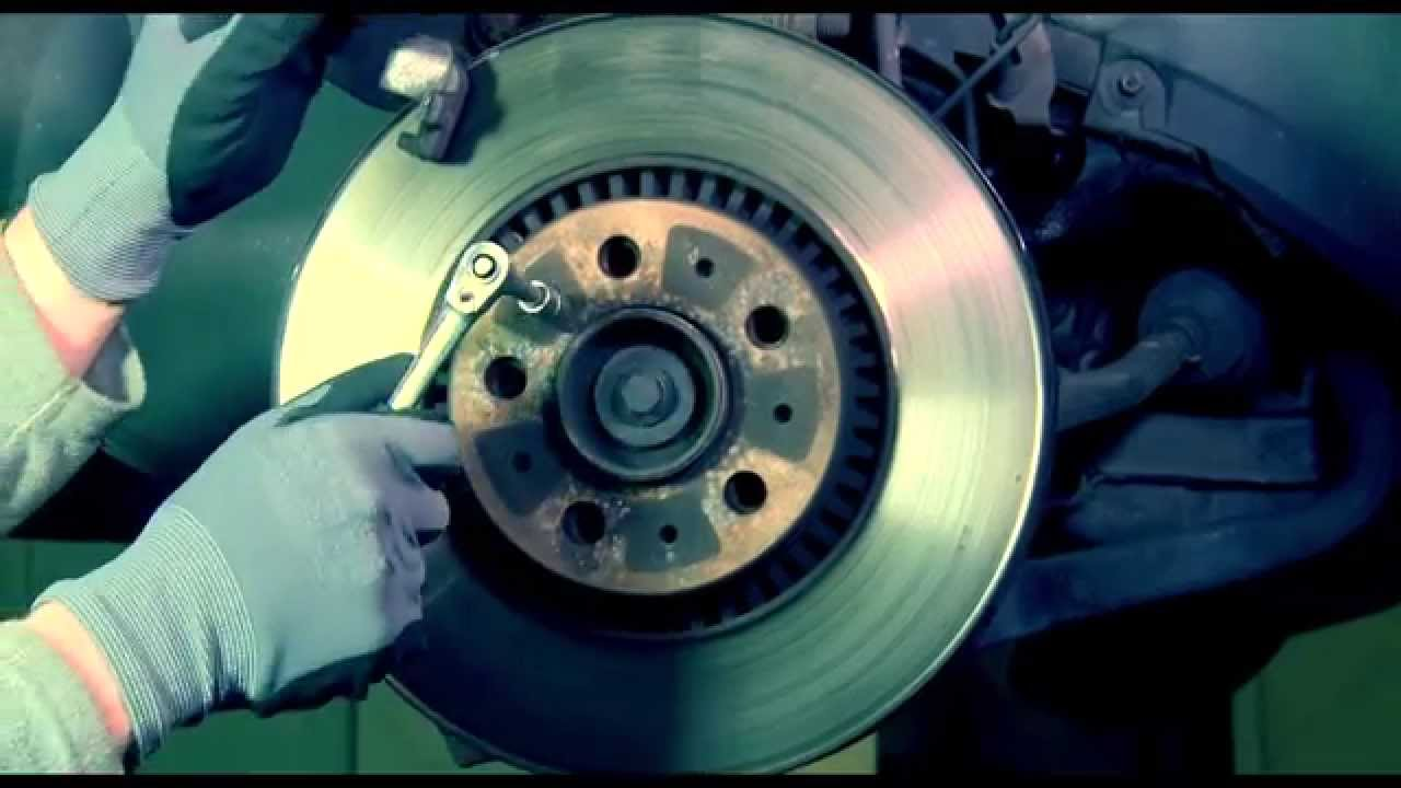 Volvo S 60 How To Front Brake Replacement Rotor And