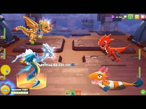 [Water] Can save your life - Dragon Mania Legends